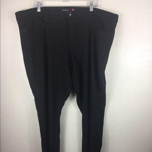 Torrid Plus Size 24T Black Pant